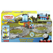 Игровой набор 'Томас и водонапорная башня' (Thomas at the Water Tower), Томас и друзья. Thomas&Friends Take-n-Play, Fisher Price [DGK90]
