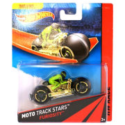 Мотоцикл Bat-Pod, HW Race - Moto Track Stars, Hot Wheels, Mattel [BDN54]