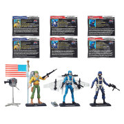 Набор из трех фигурок 'Chase for the M.A.S.S. Device', 10см, G.I.Joe, Hasbro [B4068]