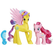 Набор из двух пони 'Princess Gold Lily и Pinkie Pie' из серии 'Сила радуги' (Rainbow Power), My Little Pony [A9883]