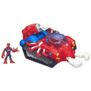 Игровой набор 'Танк Человека-Паука' (Web Strike Tank & Spider-Man) 6см, Super Hero Adventures, Playskool Heroes, Hasbro [A5665]