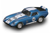 Модель автомобиля Shelby Cobra Daytona Coupe 1965, синий металлик, 1:43, Yat Ming [94242B]