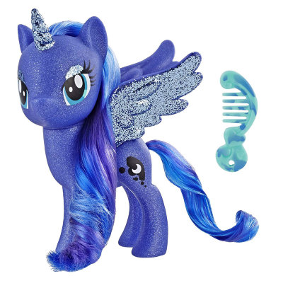 Набор с большой пони Princess Luna, из серии 'My Little Pony в кино', My Little Pony, Hasbro [E5963] Набор с большой пони Princess Luna, из серии 'My Little Pony в кино', My Little Pony, Hasbro [E5963]