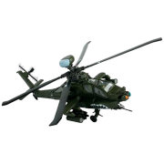 Модель вертолета U.S. AH-64 Apache (Ирак, 2003), 1:72, Forces of Valor, Unimax [85056]