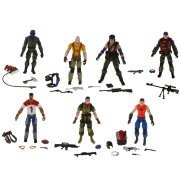 Набор 7 фигурок 'Slaughter's Marauders Battle Set', 10см, G.I.Joe, Hasbro [37049]