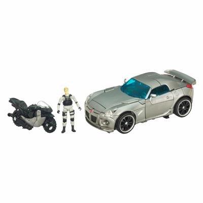 трансформер Autobot Jazz автобот джаз и фигурка капитана леннокса Human Alliance Hasbro 19764