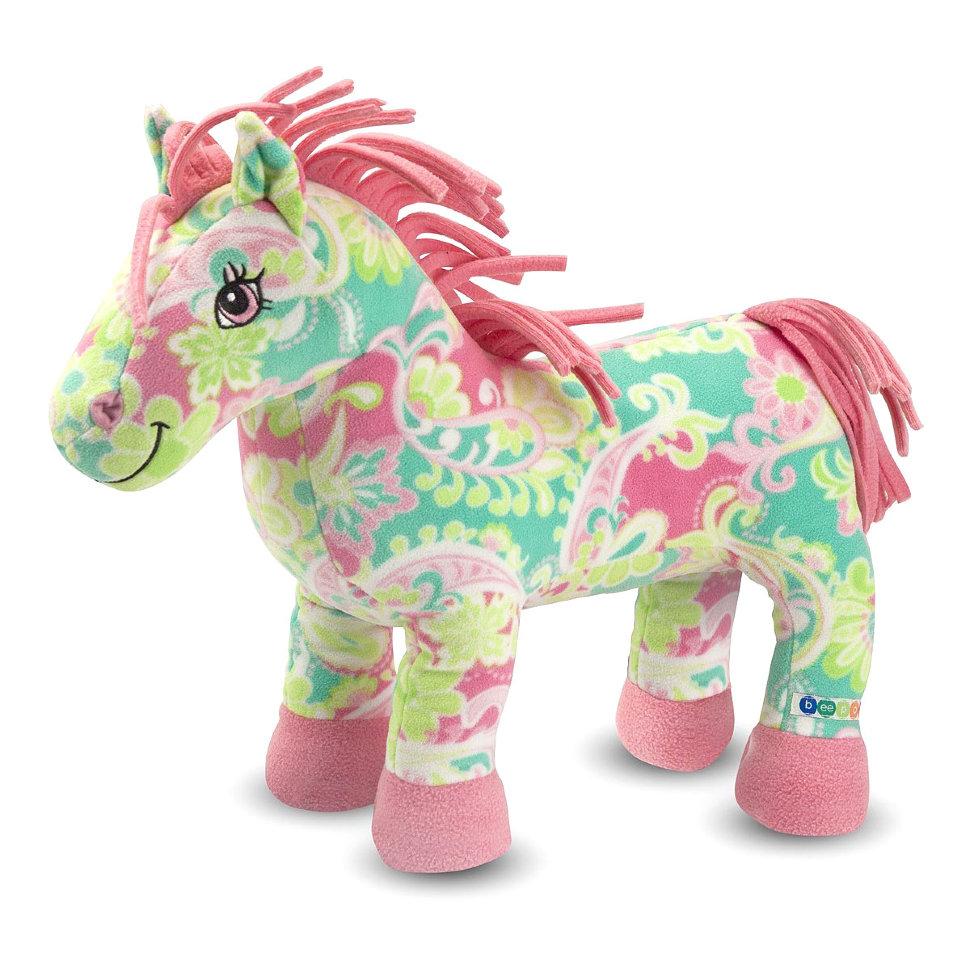 Мягкое игрушка лошадка