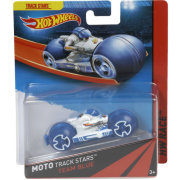 Мотоцикл Team Blue, HW Race - Moto Track Stars, Hot Wheels, Mattel [BDN42]