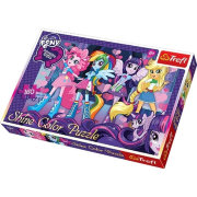 Пазл 'Девушки Эквестрии' (My Little Pony Equestria Girls), металлик, 160 элементов, Trefl [30005]