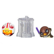 Комплект из 2 фигурок 'Angry Birds Star Wars II. Mace Windu & Luke Skywalker', TelePods, Hasbro [A6058-48]