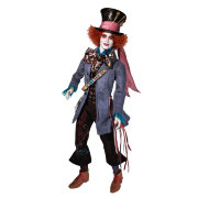 Барби Кукла Mad Hatter, Johnny Depp (Безумный Шляпник, Джонни Депп) по мотивам фильма 'Алиса в Стране чудес' (Alice in Wonderland), коллекционная Barbie Pink Label, Mattel [T2104]