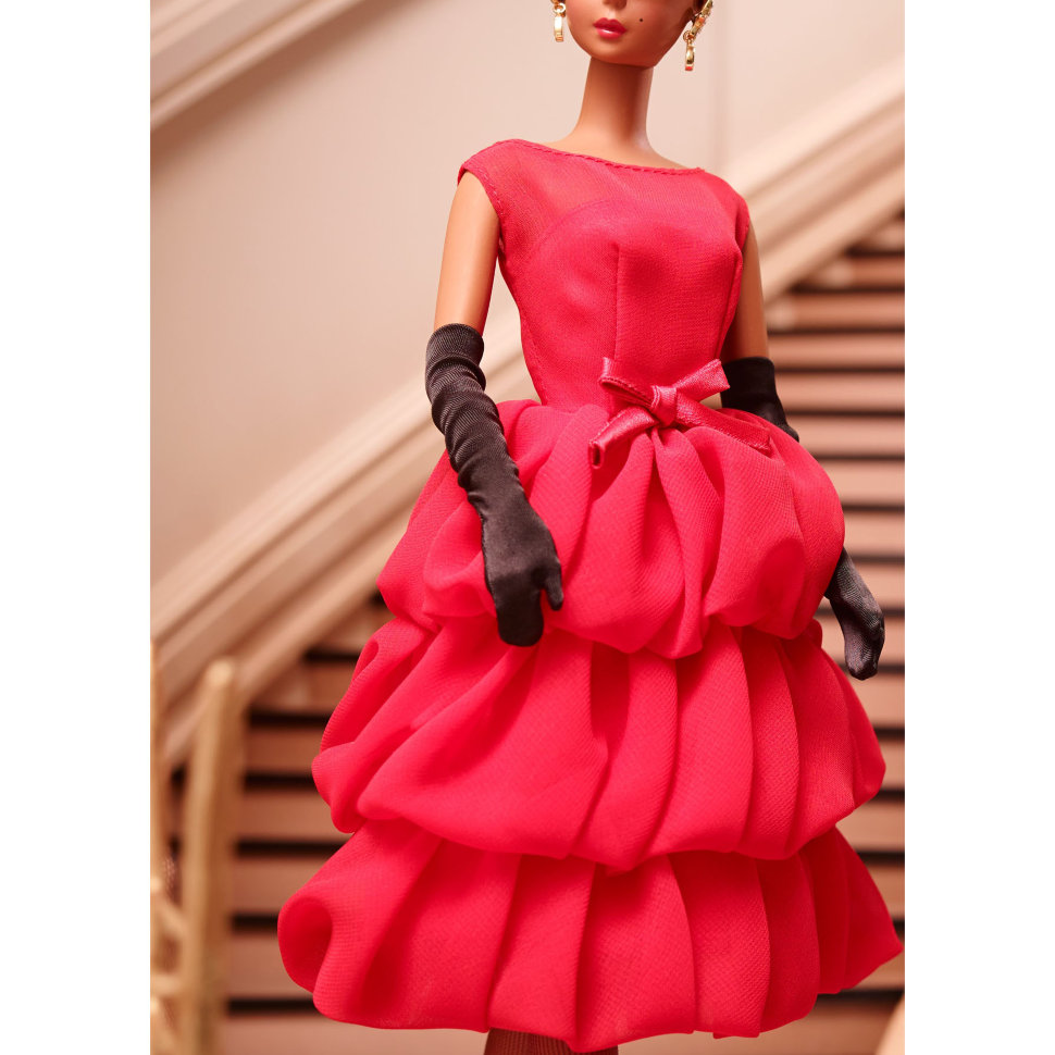 3654da9c0d8984d Кукла 'Маленькое красное платье' (Little Red Dress), коллекционная, Gold  Label