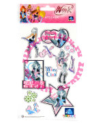 Наклейки 'Winx Club - Rock Girls BW' [10542]