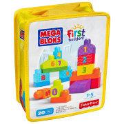 Конструктор 'Счет 1-2-3' (1-2-3 Count!), из серии First Builders, Fisher Price, Mega Bloks [DLH85]