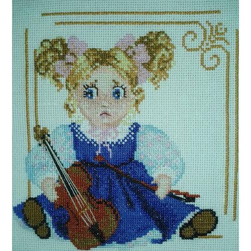 Набор для вышивки со скрипкой