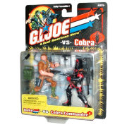 Набор фигурок 'Duke vs Cobra Commander', 10см, G.I.Joe, Hasbro [53024]