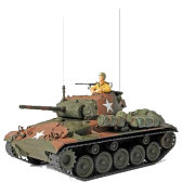Модель 'Американский танк Cadillac M24 Chaffee' (Германия, 1945), 1:32, Forces of Valor, Unimax [80075]