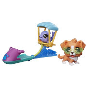Набор 'Парапланеристы' (Paragliding Pets), Series 1, Littlest Pet Shop [C2101]