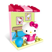 Конструктор 'Гимнастка', Hello Kitty, Mega Bloks [10871]