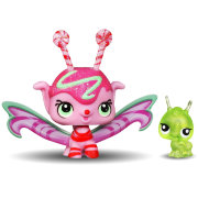 Набор с феей Mint Shimmer Fairy и Кузнечик, из серии Candyswirl Dreams ('Карамельные мечты'), Littlest Pet Shop Fairies [A1563]