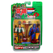 Набор фигурок 'Switch Gears & Cobra Commander', 10см, G.I.Joe, Hasbro [55441]