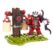 Мини-конструктор с фигуркой 'Rojo', 31 элемент, World of Warcraft, Mega Bloks [91050]