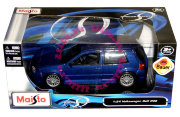 Модель автомобиля Volkswagen Golf R32, синий металлик, 1:24, Maisto [31290]