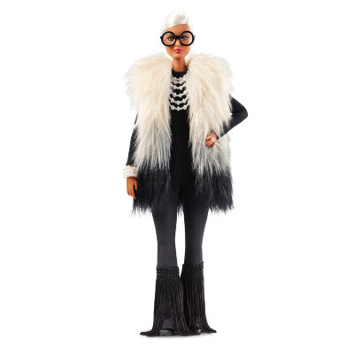 Кукла 'Айрис Апфель' (Styled by Iris Apfel), коллекционная, Black Label, Barbie, Mattel [FWJ27] Кукла 'Айрис Апфель' (Styled by Iris Apfel), коллекционная, Black Label, Barbie, Mattel [FWJ27]