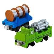 Вагоны грузовые 'Sodor Supply Co.', Томас и друзья. Thomas&Friends Take-n-Play, Fisher Price [R8865]