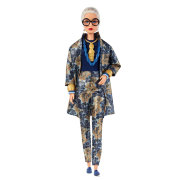 Кукла 'Айрис Апфель' (Styled by Iris Apfel), коллекционная, Black Label, Barbie, Mattel [FWJ28]