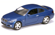 Модель автомобиля BMW 335i Coupe 2007, 1:24, синий металлик, Yat Ming [24205b]