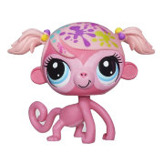 Игрушка 'Петшоп из мешка - Мартышка-художница', серия 1/14, Littlest Pet Shop, Hasbro [A6903-3509]