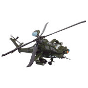 Модель вертолета U.S. AH-64D Apache Longbow (Ирак, 2003), 1:48, Forces of Valor, Unimax [84003]