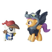 Игровой набор с мини-пони 'Пип Пинто Сквик и Скуталу' (Pip Pinto Squeak and Scootaloo), из серии 'Nightmare Night', My Little Pony, Hasbro [B7822]