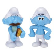 Фигурки 'Смурфик-обжора и Смурф' (Greedy Smurf and Smurf), 6 см, Jakks Pacific [15044-2/15049]