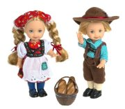 Куклы Келли и Томми 'Гензель и Гретель' (Kelly & Tommy As Hansel & Gretel), коллекционные, Mattel [28535]