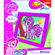 Фреска - картина из песка 'Милая Пинки Пай', My Little Pony, LORI [Кпп-002]