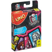 Игра карточная 'Uno Monster High' (Уно 'Школа Монстров'), версия 2015 года, Mattel [CJM75]