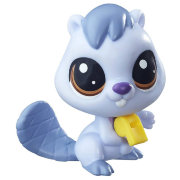 Одиночная зверюшка 'Бобёр Bluesy Beaverton', из серии Pets in the City, Littlest Pet Shop [B7626]
