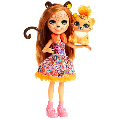 Игровой набор 'Cherish Cheetah & Quick-Quick', Enchantimals, Mattel [FJJ20] Игровой набор 'Cherish Cheetah & Quick-Quick', Enchantimals, Mattel [FJJ20]