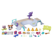 Игровой набор 'Скейт-парк' (Skate Park), из серии Pets in the City, Littlest Pet Shop [B6959]