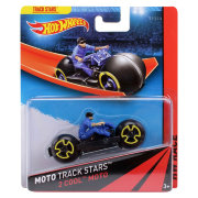 Мотоцикл 2 Cool Moto, HW Race - Moto Track Stars, Hot Wheels, Mattel [BDN48]