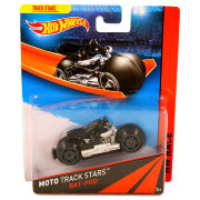 Мотоцикл Bat-Pod, HW Race - Moto Track Stars, Hot Wheels, Mattel [BDN51]