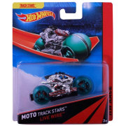 Мотоцикл Live Wire, HW Race - Moto Track Stars, Hot Wheels, Mattel [BDN55]