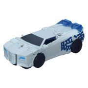 Трансформер 'Blizzard Strike Sideswipe', класса One-Step Warriors, из серии 'Robots in Disguise', Hasbro [B6807]