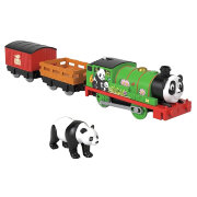 Игровой набор 'Перси-панда' (Panda Percy), из серии 'Sodor Safari', Томас и друзья, Thomas&Friends Trackmaster Motorized, Fisher Price [GLK71]
