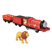 Игровой набор 'Джеймс-лев' (Lion James), из серии 'Sodor Safari', Томас и друзья, Thomas&Friends Trackmaster Motorized, Fisher Price [GLK72]