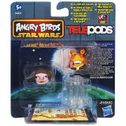 Комплект из 2 фигурок 'Angry Birds Star Wars II. Princess Leia & Jar Jar Binks', TelePods, Hasbro [A6058-02]