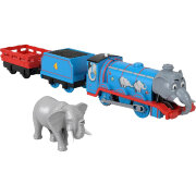 Игровой набор 'Гордон-слон' (Elephant Gordon), из серии 'Sodor Safari', Томас и друзья, Thomas&Friends Trackmaster Motorized, Fisher Price [GLK73]