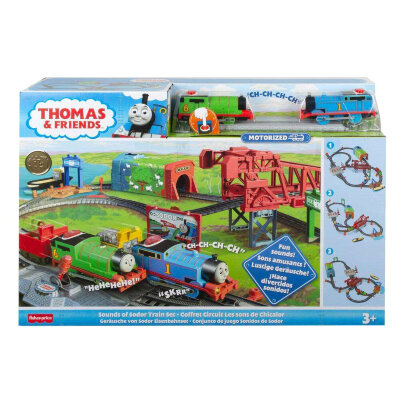 Игровой набор 'Звуки Содора' (Sounds of Sodor Train Set), Томас и друзья, Thomas Friends Trackmaster Motorized, Fisher Price [GVL59] Игровой набор 'Звуки Содора' (Sounds of Sodor Train Set), Томас и друзья, Thomas&Friends Trackmaster Motorized, Fisher Price [GVL59]